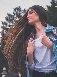 long and healthy hair