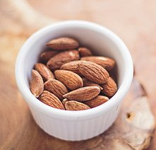 almonds are an excellent source of healthy fats and proteins