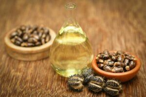 castor oil can be mixed with coconut oil to fight wrinkles